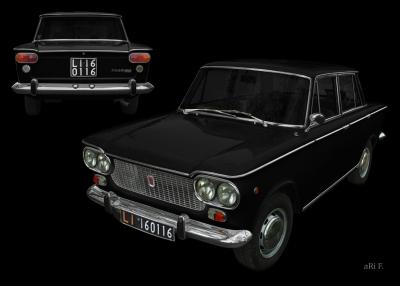Fiat 1500 in Doppelansicht (1961-1968)