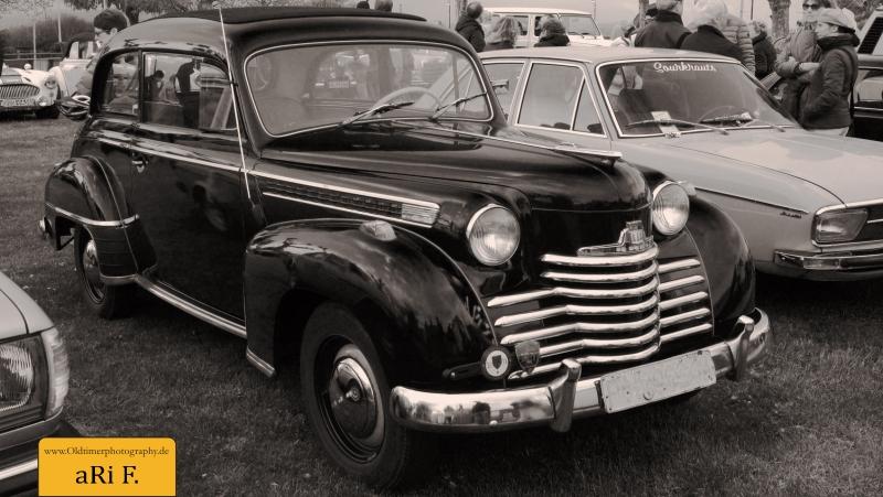 Opel Olympia (1950-1953) Originalfoto unbearbeitet