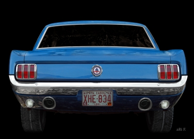 Ford Mustang 1 Oldtimer techn. Daten