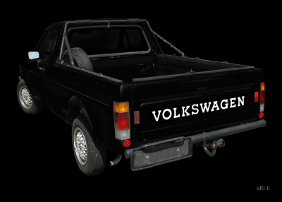 VW Golf 1 Caddy mit Weber-Vergaser