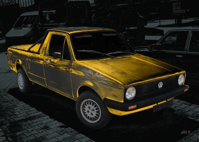 VW Caddy Typ 14D Oldtimer mit H-Kennzeichen