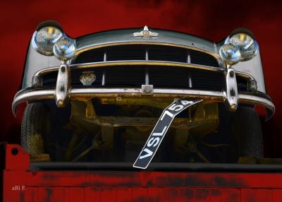 Morris Oxford Series II English Classic Car