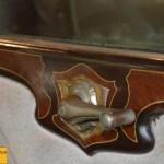 OM 665 N 5, Fensterkurbel teilweise mit Intarsien belegt