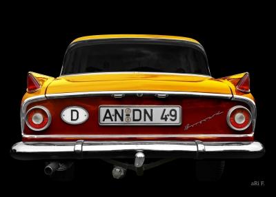 Borgward P 100 Airswing Autoposter