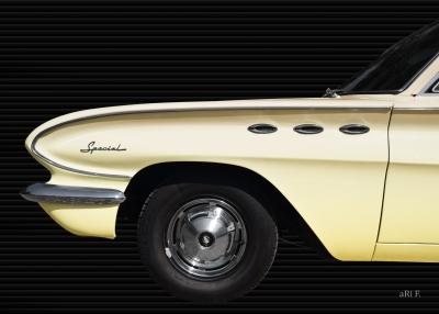 Buick Special DeLuxe 4-Door Sedan 1961 Poster