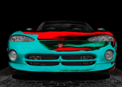 Chrysler Viper RT10 Art Poster