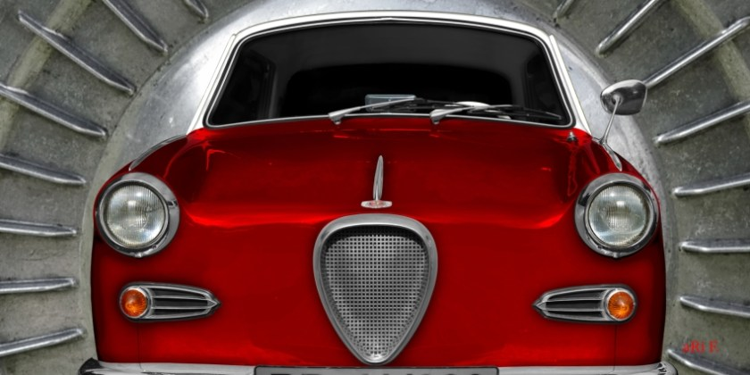 Goggomobil Coupé 250 TS Poster by aRi F.