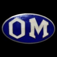 Logo Officine Meccaniche = OM = Società Anonima Officine Meccaniche