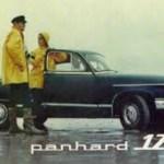 Panhard Verkaufsbroschur
