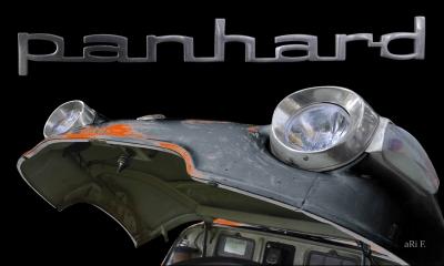 Panhard PL 17b Detailbild Motorhaube