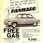 Panhard PL 17 Verkaufsbroschüre USA