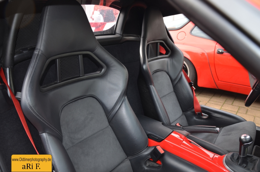 Porsche Boxster Spyder (Typ 987), Interieur