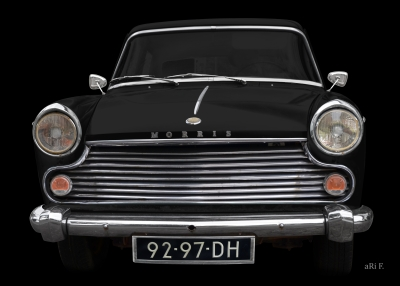 Morris Oxford Series V (1959-1961) Poster for sale