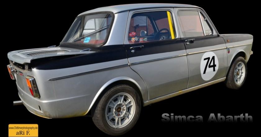 Simca Abarth 1150 (1962–1963) Poster kaufen