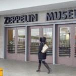 Zeppelin Museum Haupteingang hin zum Bodensee