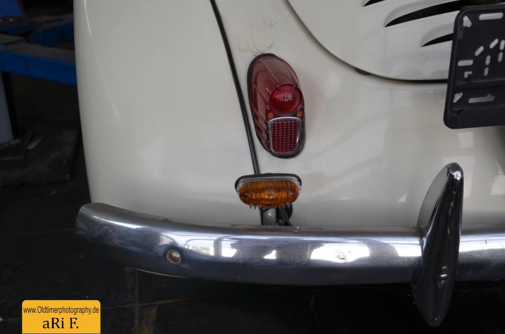 Renault 4CV Heckdetailansicht