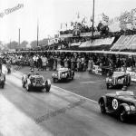 Aldington, Bira und Fane auf BMW 328 bei der Tourist Trophy (Ulster) 1936