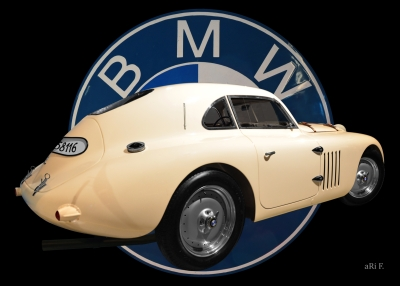BMW 328 Touring Coupé Poster kaufen in Originalfarbe