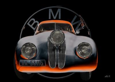 BMW 328 Coupé Migle Millia