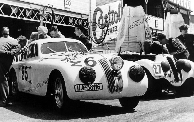 BMW 328 Touring Coupé Le Mans 1939