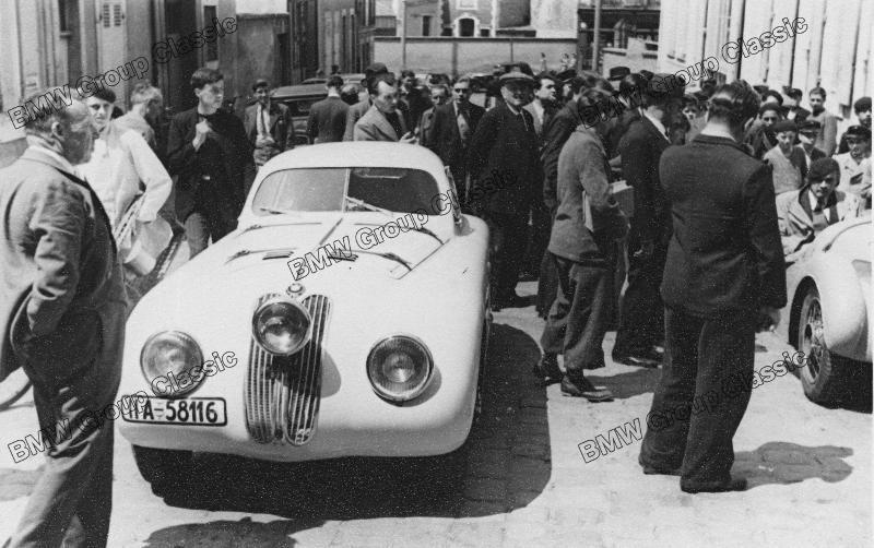 BMW 328 Touring Coupé in Le Mans 1939