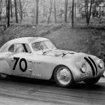 BMW 328 Touring Coupé während des I. Gran Premio Brescia delle Mille Miglia 1940