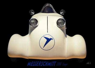 Messerschmitt KR 200 Super Poster in Originafarbe