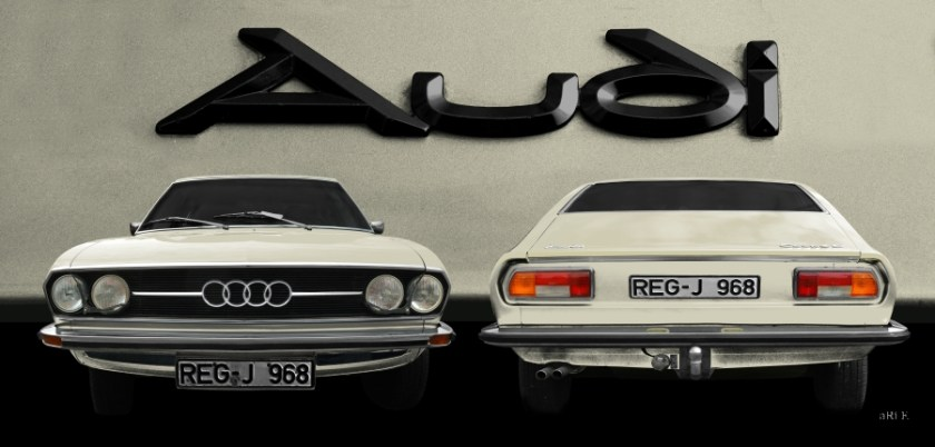 Audi 100 Coupe S Poster