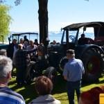 Lanz Bulldog Vorführung beim Oldtimertreffen in Langenargen
