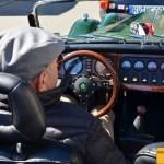 Morgan Plus 8 Fahrer musste auch warten...