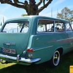 Opel Olympia P2 Caravan Heckansicht beim Oldtimertreffen Langenargen