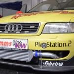 Audi V8 im Rennlook auf der Klassikwelt Bodensee