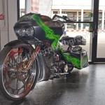 Klassikwelt Bodensee Motorrad mit Booster