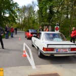 Mercedes-Benz 500 SLC 241 PS Baujahr 1981 Team MediTrainment