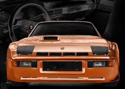 Porsche 924 Carrera GTS Poster