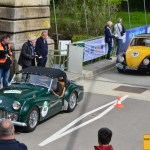 Triumph TR3A . Volkswagen 1200 Baujahr 1960 Team ADAC Klassik
