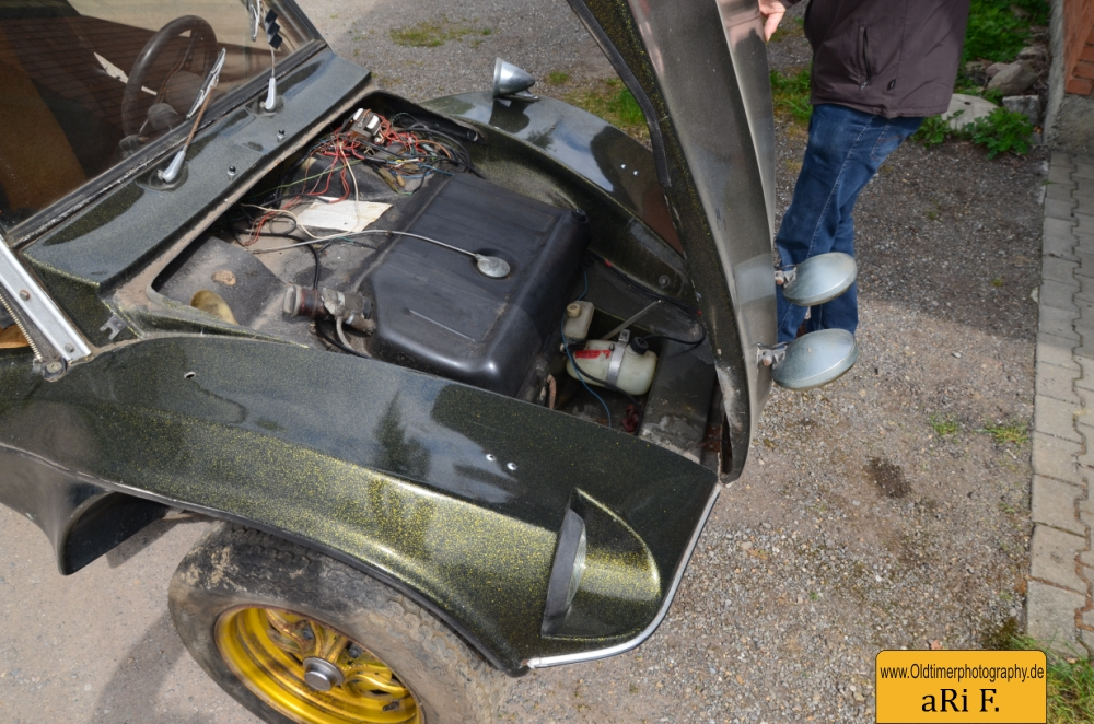 VW Buggy APAL Jet Fronthaube offen