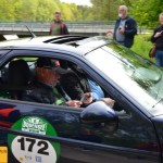 Porsche 928 GTS 350 PS Baujahr 1991 mit Schauspieler Siegfried Rauch im Beifahrersitz