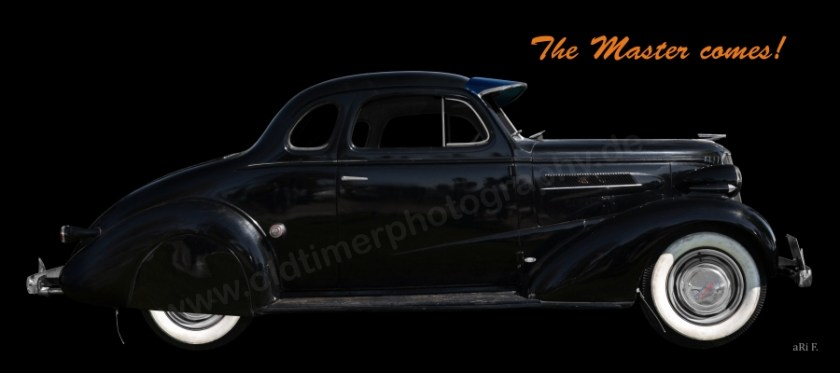 Chevrolet Master Coupe 1937 Poster