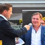 Christoph Karle im Interview mit dem Indy-Racer-Fahrer Heinz Baumann