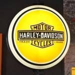 Leuchtreklame Harley-Davidson Advertising / Werbung