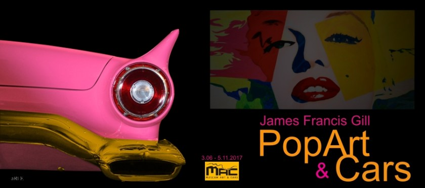Museum Art & Cars mit James Francis Gill Pop-Art Poster