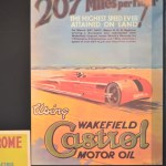 Plakat 207 Miles per hour March 29th 1927