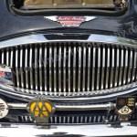 Austin-Healey 3000 Mk II Kühlergrill mit Clubplaketten