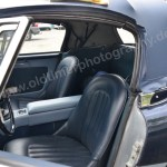 Austin-Healey 3000 Mk II mit Ledersitzen in Wagenfarbe