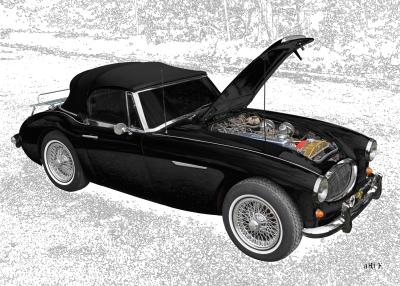Austin-Healey 3000 Mk II technische Daten