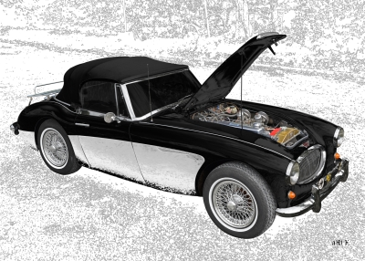 Austin-Healey 3000 Mk II by aRi F. in Langenargen