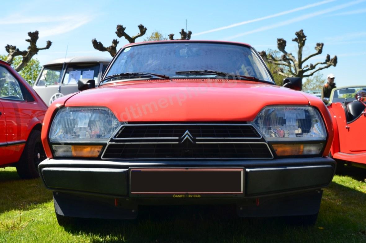 Citroen GSA Frontansicht (1979-1986)