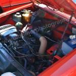 Citroen GSA Motorraum ohne Ersatzreifen