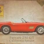 Ferrari 250 GT California Spyder Plakat